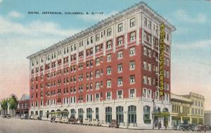 COLUMBIA , South Carolina , 30-40s ; Hotel Jefferson