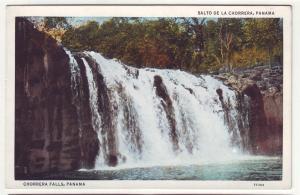 P721 vintage salto de la chorrera panama waterfalls