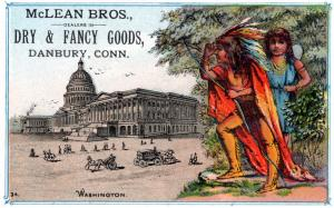 VICTORIAN TRADE CARD, MCLEAN BROTHERS.