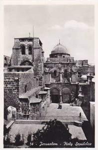 RP: Jerusalem - Holy Sepulchre , Israel , 30-40s