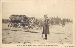 Albania military Albanie au terminus des routes carrossables