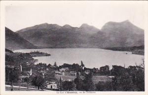 FRANCE, 1900-1910's; Le Lac D'Annecy, Vu De Talloires