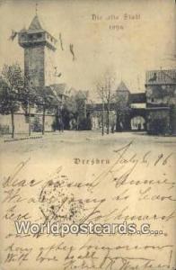 Dresden Germany, Deutschland Postcard