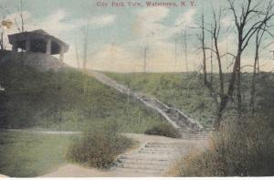 WATERTOWN , New York , 1911 , City Park View