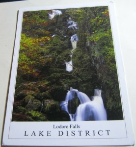 England Lodore Falls Lake District CU-38-883 Stirling Gallery - posted