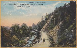 Black Hills, South Dakota-On the Pike between Sturgis and Ft. Meade - 1911