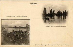 CPA AK INDOCHINA Tonkin Souvenir VIETNAM (957492)