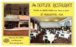 Florida Saint Augustine , Neptune Restaurant