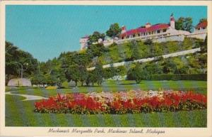 Michigan Mackinac Island Marquette Park