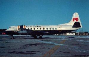 North Cariboo Air Viscount 806 At Winnipeg Manitoba