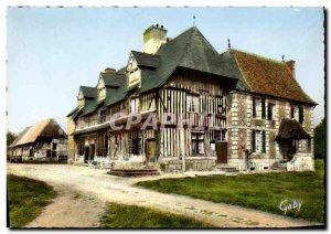 Postcard Modern Manoir Normand Glantigny