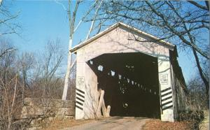 Wheeling Covered Bridge near Potaka, Gibson County IN, Indiana