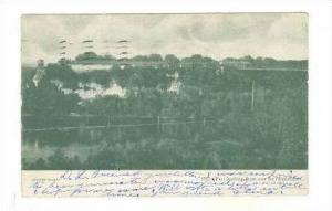 Aerial, Fort Spelling from Over the Mississippi, Minnesota, PU-1908