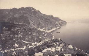 RP, Aerial View, Vista Dall'Hotel Palumbo, Ravello (Salerno), Campania, Italy...