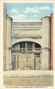 LP69  Charleston South Carolina   Old Slave Market Postcard
