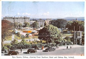 Eyre Square, Galway showing Great Southern Hotel Galway Bay Ireland 1960