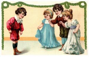 4640      Victorian childre  Asking to dance