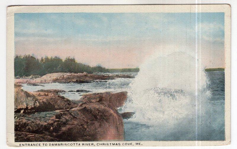 Christmas Cove, Me., Entrance To Damariscotta River