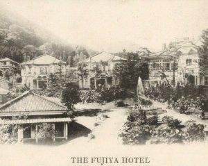 Fujiya Hotel Natural Hot Springs Miyanoshita Japan Postcard