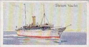 Amalgamated Press Vintage Trade Card Ships Of The World 1924 No 21 Steam Yacht