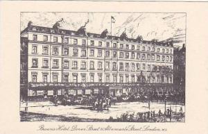 Brown's Hotel, Dover Street & Albermarle Street, London, England, United King...