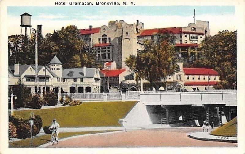 Bronxville Ny Hotel Gramatan Boy Bicycle Underp S Water Tower