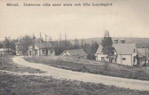 MORSIL , Sweden , 00-10s ; Doktorns villa samt stora och lilla Lundagard
