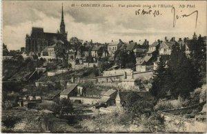 CPA CONCHES-en-OUCHE Vue Generale prise de l'Hopital (1160189)