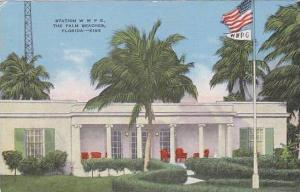 Florida Palm Beach W W P G Radio Station 1949