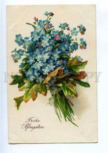 240565 Forget-me-not Vintage SPECIAL MARK Kraftpost postcard