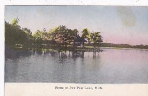 Michigan Scene On Paw Paw Lake