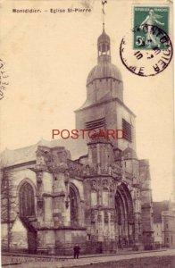 1910 FRANCE. MONTDIDIER - EGLISE ST-PIERRE