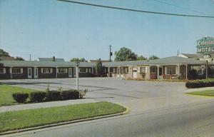 Exterior,  Colonial Motel,  Columbus,  Ohio,   40-60s