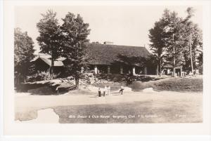 RP: 18th Green [Golf Course] & Club House , Seigniory Club , Quebec , Canada,...