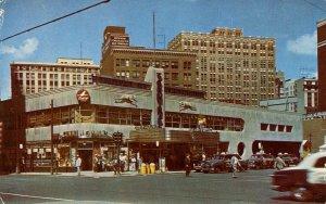 MI - Detroit. Greyhound Bus & Air Lines Terminal