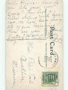 Divided-Back PRETTY WOMAN Risque Interest Postcard AA7792