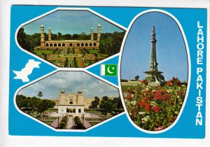 Lahor, Pakistan, used Postcard