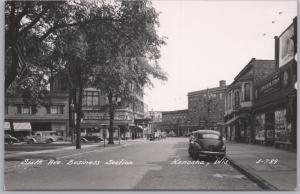 RPPC-Kenosha, Wis., Sixth Ave. Business Section, W. Sipf Drug/Betsy Rose Lunch