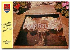 Modern Postcard Lourdes The Miraculous Source