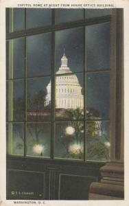 WASHINGTON D. C., 1925 ; Capitol Dome from House Office Bldg