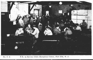 New Jersey Fort Dix Reception Center P X In Service Club