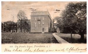 Rhode Island  Providence , The Friend's School