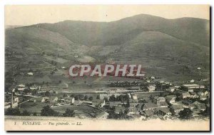 Old Postcard Bussang General view