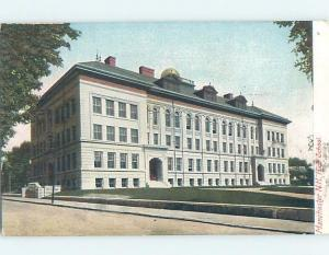 Pre-1907 HIGH SCHOOL Manchester New Hampshire NH A1927