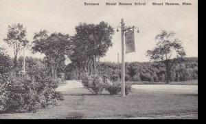 Massachusetts Mount Hermon Entrance Mount Hermon School Albertype