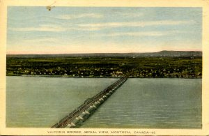 Canada - QC, Montreal. Victoria Bridge