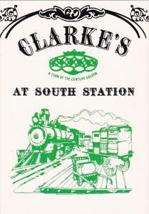 Clarke's A Turn Of The Century Saloon At South Station Boston Massachusetts