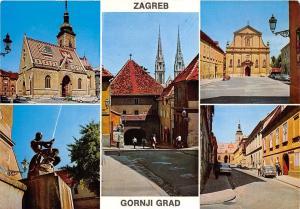 B69385 Croatia Zagreb Gornji Grad multiviews
