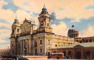 Guatemala City Guatemala, Central America, Republica de Guatemala Cathedral G...