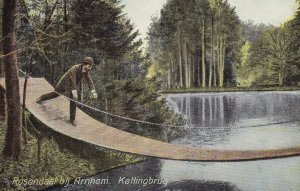 Denmark , 1900-1910's; Rosendaal Bij Arnhem, Kettingbrug